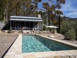 Pictured: Pool area. Ellen Degeneres lists Santa Barbara house for sale. Picture: Jim Bartsch