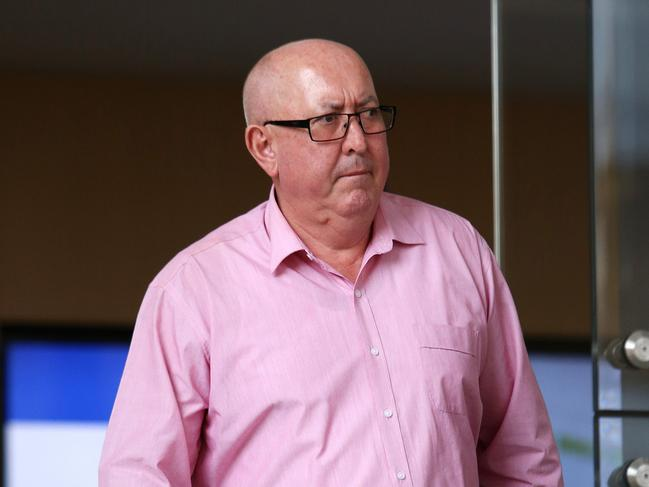 Sexual abuse victim Peter Creigh gave evidence in the trial of Adelaide Archbishop Philip Wilson. Picture: Peter Lorimer