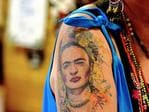Tattoos of Adelaide. Picture: Bernard Humphreys