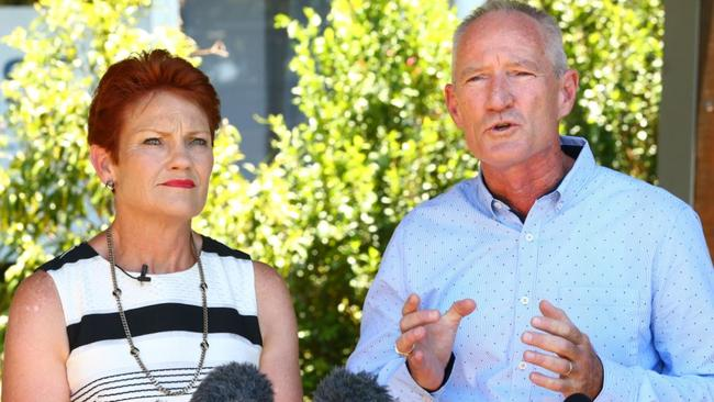 Image result for LNP MP Steve Dickson defects to Pauline Hanson's One Nation
