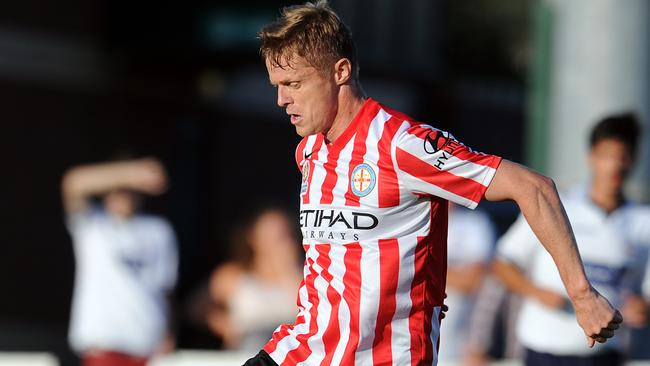 Damien Duff of Melbourne City is set to play against Sydney FC in the FFA Cup.