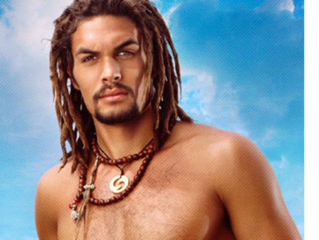 Married to Bonet ... Actor Jason Momoa from Game of Thrones.