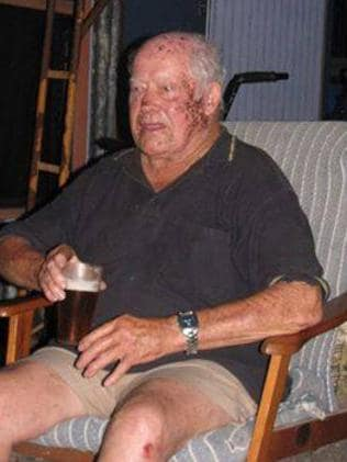 Colin Webb 79, who was one of the people killed in Dungog yesterday when flash flooding washed away houses.