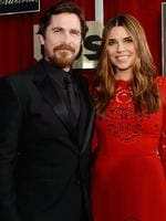 Christian Bale and Sibi Bale at the 22nd Annual Screen Actors Guild Awards. Picture: Kevork Djansezian/Getty Images