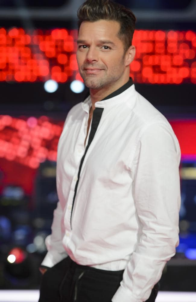La Vida Loca ... The Voice coach Ricky Martin is back again this year too. Picture: Supplied