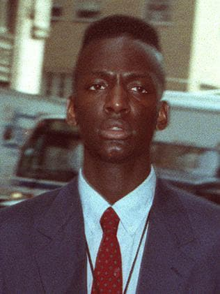 Yusef Salaam at New York State Supreme Court in 1990. Picture: Supplied