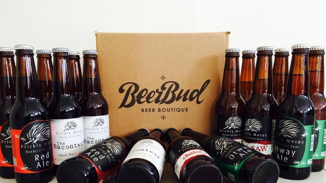 The site stocks more than 100 craft beers with tasting notes and member ratings.