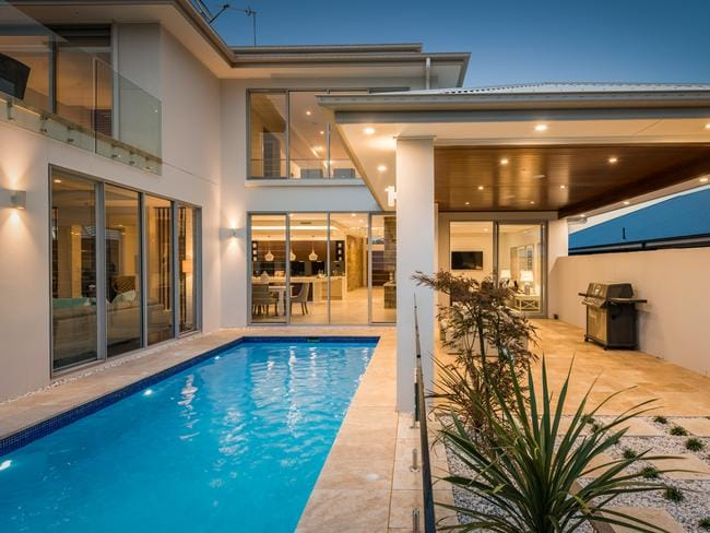 The home in Harrington Grove is the ideal resort-styled residence.