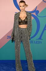 Model Josephine Skriver attends the 2017 CFDA Fashion Awards at Hammerstein Ballroom on June 5, 2017 in New York City. Picture: Dimitrios Kambouris/Getty Images/AFP