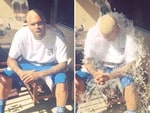 "Singer Chris Brown, ""ALS challenge!""... VIEW VIDEO Picture: Instagram"