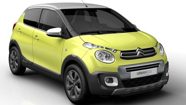 "Citroen's oddly but honestly named ""C1 Urban Ride"". Picture: Supplied."