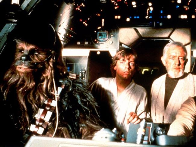 Chewbacca can fly a spaceship. Talk about talented ...