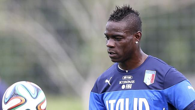 Italy forward Mario Balotelli.
