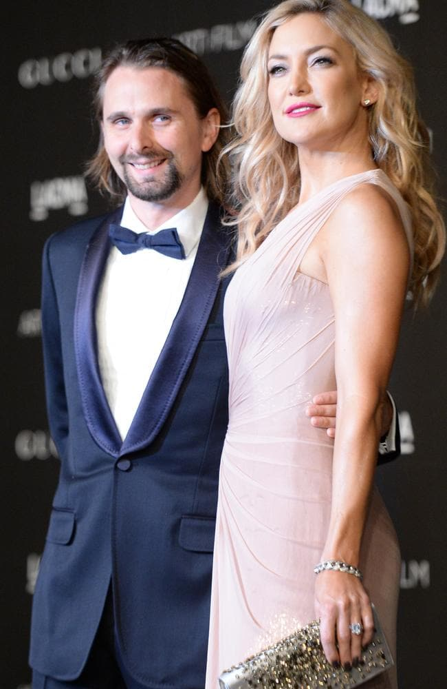 Kate Hudson with Matthew Bellamy in November 2014.