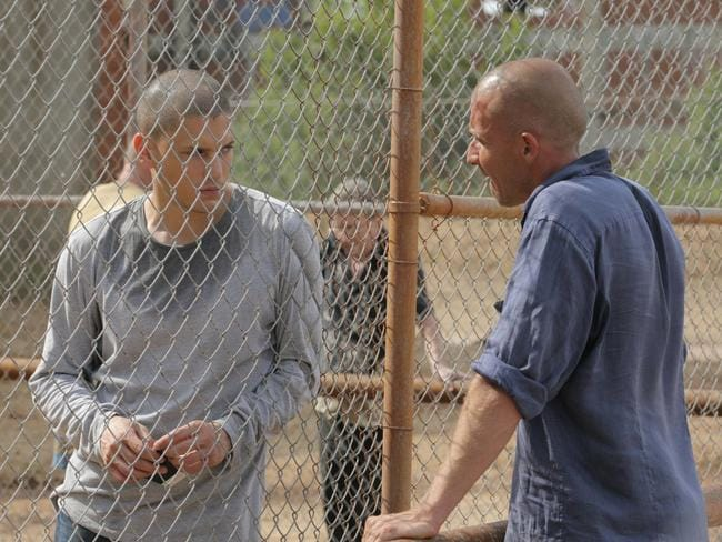 Purcell stars as condemned man Lincoln Burrows alongside co-star Wentworth Miller in the acclaimed series Prison Break.