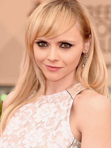 Addams Family star Christina Ricci attends the 22nd Annual Screen Actors Guild Awards at The Shrine Auditorium. Picture: Jason Merritt/Getty Images
