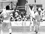 <p>Rod Marsh is dismissed against the West Indies in a Supertest.</p>