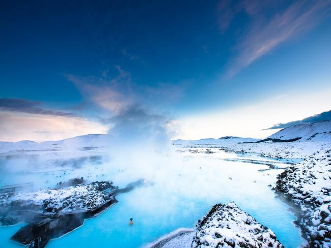 The Blue Lagoon is one of the main tourist attractions in Reykjavik, Iceland. Picture: Alamy