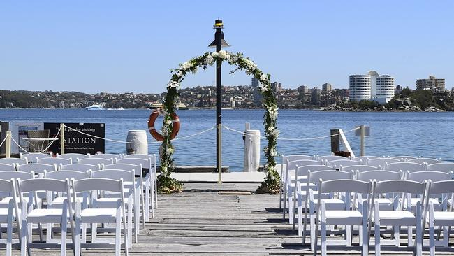 Sydney's Manly Q Station wedding venue has seen a 12 per cent increase in enquiries.