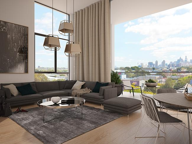 The Asper project in Rosebery has a total of 88 apartments spread across two buildings.