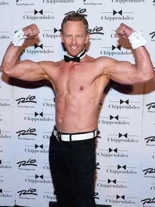 """""""it's really a great movie"""" ... Actor Ian Ziering could not resist Sharknado 2."""