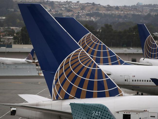 American carrier United Airlines is under fire for its abhorrent treatment of a passenger. Picture: AFP/Getty Images/Justin Sullivan