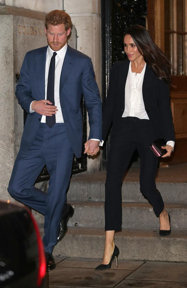 Prince Harry and Meghan Markle could end up dancing to the Spice Girls at their wedding reception. Picture: Ben Stansall/WPA Pool/Getty Images