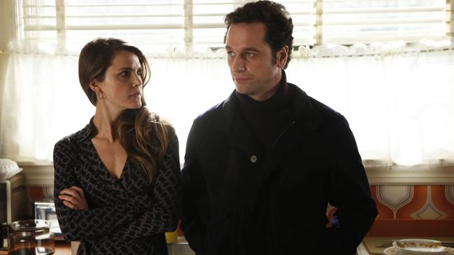 Keri Russell and Matthew Rhys in The Americans.