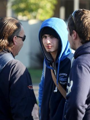 Jed Coates' friends woke yesterday morning to find their friend was dead.