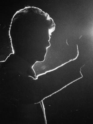 Even cool in silhouette in 1983 in Adelaide.