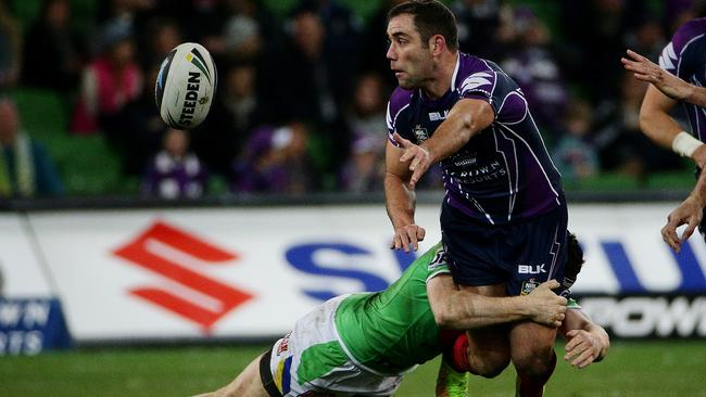 Cameron Smith was at his brilliant best against the Raiders. Pic: Colleen Petch