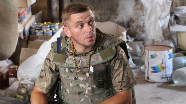 A Ukrainian soldier in the largely Russian-speaking Donetsk region. Picture: Jonathan Spyer