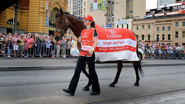 Melbourne Cup parade