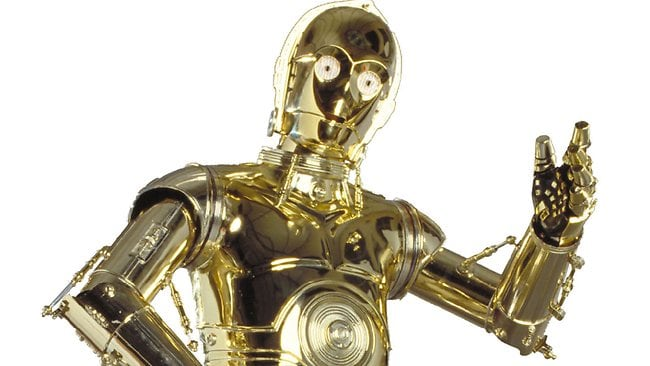 Protocol droid and Star Wars star C3P0 ... not voted as the most favourite character among fans.