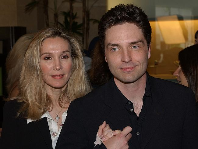Split ... Singer Richard Marx has announced that he and his wife of 25 years, actress Cynthia Rhodes, are divorcing.