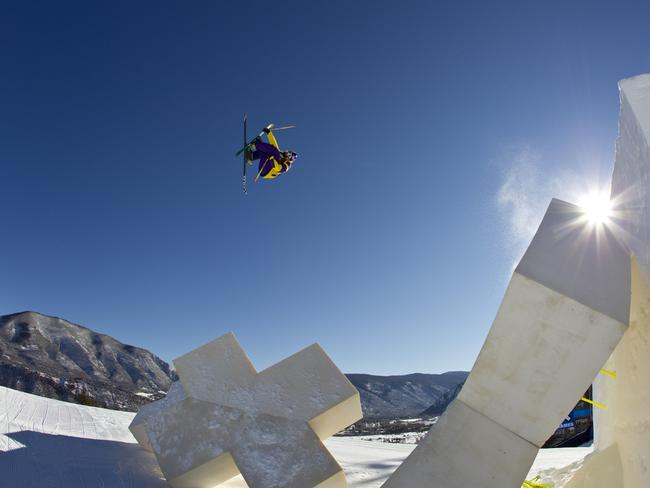 Russ at the Aspen winter X Games. Picture: Red Bull.