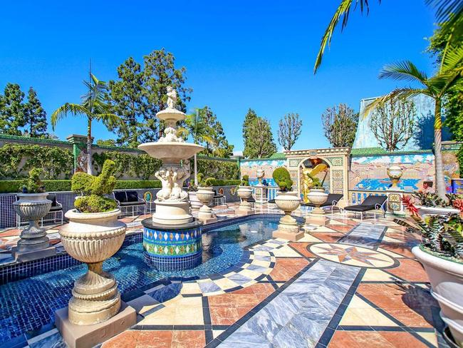 Is that the pool or a fountain? Picture: Christies Real Estate