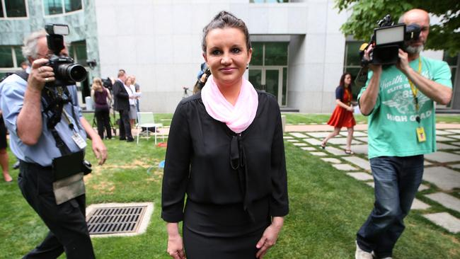 'I'm hoping he's come to his common sense' ... Jacqui Lambie will push Tony Abbott to change the ADF pay deal. Picture: Kym Smith/News Corp.