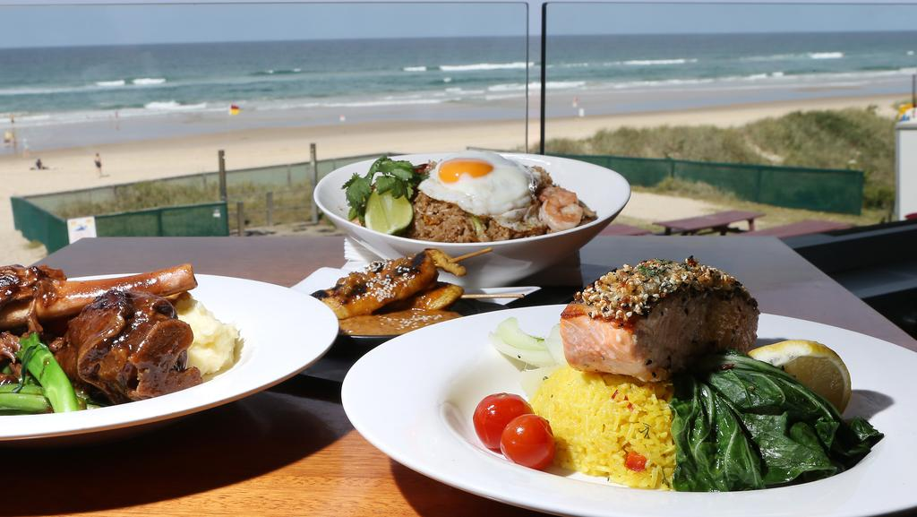 Image result for Surfers Paradise Surf Life Saving Club buffet breakfast.