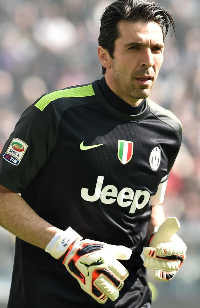 Gianluigi Buffon of Juventus is gearing up for his thirteenth season at the top.