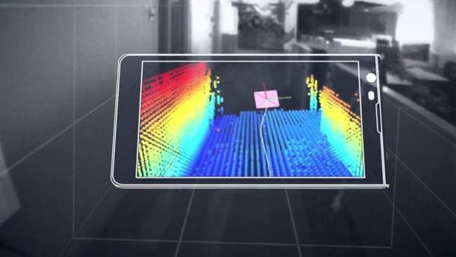 Project Tango is Google's aim to map rooms across the globe.