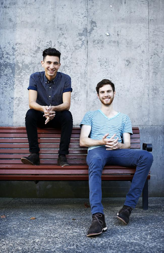 The Voice contestants from Queensland: Robbie Balmer and Isaac McGovern.