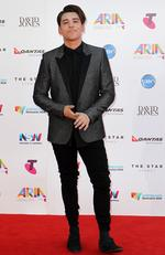 Taylor Henderson at the 2015 Aria Awards held at The Star in Pyrmont. Picture: Christian Gilles