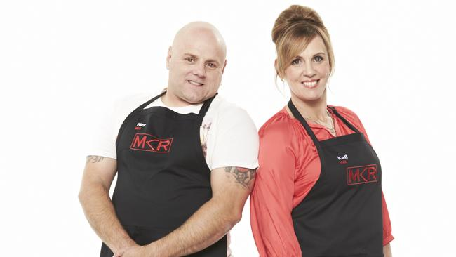 Mkr battlers nev and kell attacked by ex as love spat for Y kitchen rules contestants