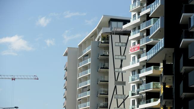 Brisbane's apartment market continued to soften in the September quarter. Picture: Mark Calleja.