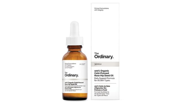 The Ordinary's 100% cold-pressed rose hip seed oil, $18.90