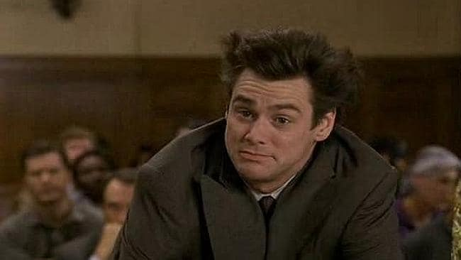 I. Can't. Lie. Jim Carrey was honest to a fault in Liar Liar.