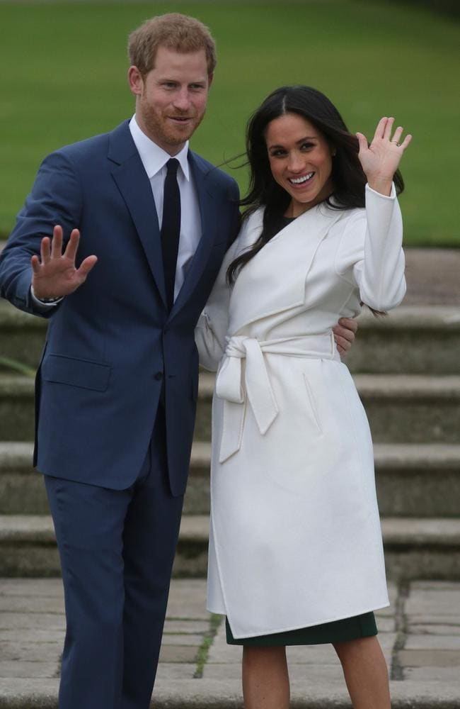 Thousands of royal watchers are likely to descend on Windsor, hoping for a glimpse of the couple. Picture: Getty Images