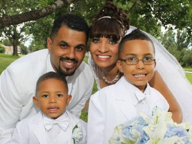 Rene Lima-Marin and his family.