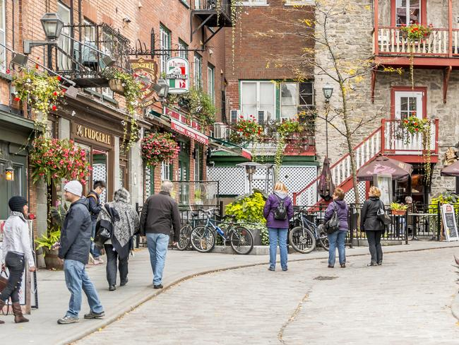 For the Paris vibe in North America, try Quebec City.